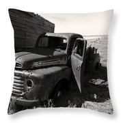Far From Now Throw Pillow