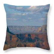 Far Off Canyon Throw Pillow