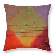Far West Blvd. Throw Pillow