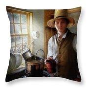 Farm - Farmer - The Farmer Throw Pillow