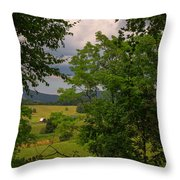 Farm Before The Storm Throw Pillow