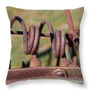 Farm Equipment 7 Throw Pillow