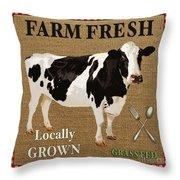 Farm Fresh-jp2381 Throw Pillow