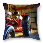 Farm Junk No3 Throw Pillow