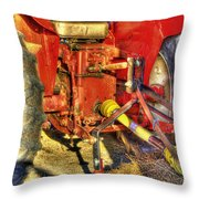 Farm Junk No4 Throw Pillow