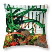 Farm Junk No8 Throw Pillow