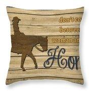 Farm Life-jp3228 Throw Pillow