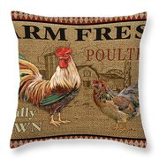 Farm Life-jp3238 Throw Pillow