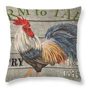 Farm Life-jp3239 Throw Pillow