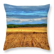 Golden Field Farm Li.ny Throw Pillow