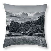 Farm On The Blue Ridge Throw Pillow