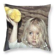 Farm Pride Throw Pillow
