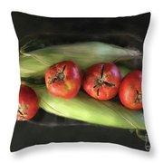 Farm Produce Throw Pillow