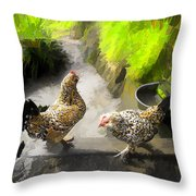 Farm Series # 51 Throw Pillow