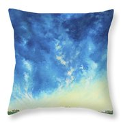 Sunrise In The South Throw Pillow