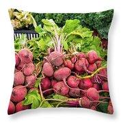 Farm To Market Produce 2 Throw Pillow