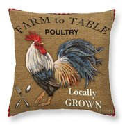Farm To Table-jp2390 Throw Pillow
