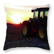 Farmers Delight Throw Pillow