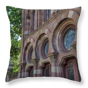 Farmers Exchange Bank Throw Pillow