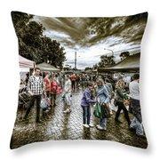 Farmer's Market 2 Throw Pillow