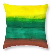 Farmers Peace Throw Pillow