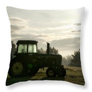 Farming John Deere 4430 Throw Pillow