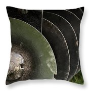 Farming Quite Time Throw Pillow