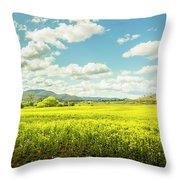 Farmland Colour Throw Pillow