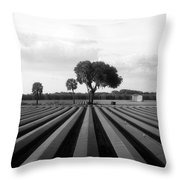 Farmland Throw Pillow