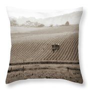 Farmland In Lancaster Pa Throw Pillow