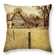 Farmscape Throw Pillow