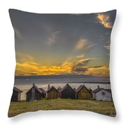 Faroe, Gotland, Sweden Throw Pillow