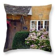 Farthing Cottage Throw Pillow