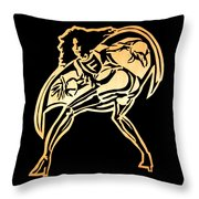Fartman - Howard Stern Throw Pillow