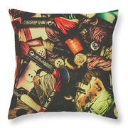Fashion Designers Desk  Throw Pillow