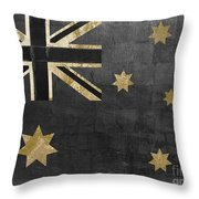 Fashion Flag Australia Throw Pillow