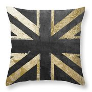 Fashion Flag United Kingdom Throw Pillow