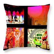 Fashion Paradise Throw Pillow