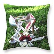 Fashion Photography Throw Pillow