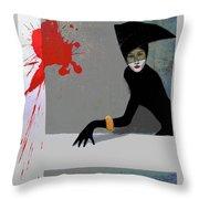 Fashion Poster Throw Pillow