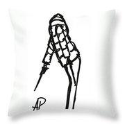 Fashion Sketch Throw Pillow
