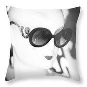 Fashion Slivers  Throw Pillow