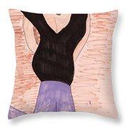 Fashion Style Seven Throw Pillow