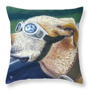 Fast And Furious Throw Pillow