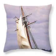 Fast Approach Throw Pillow