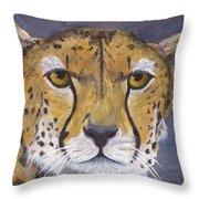 Fast Cat Throw Pillow