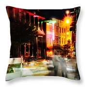 Fast Times Throw Pillow