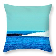 Faster Faster Captain Murray Throw Pillow