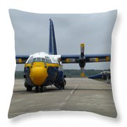 Fat Albert Head On Throw Pillow