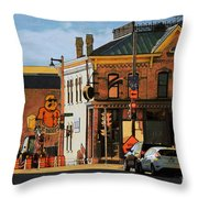 Fat Daddy's Throw Pillow